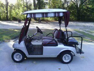 02 club car golf cart - $2950