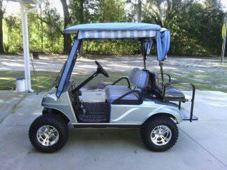 02 club car golf cart - $3750