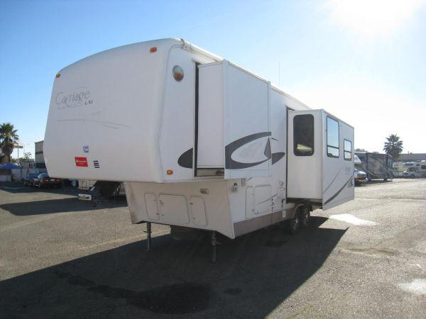 03 Carriage Cameo Lxi 30ft 5th Wheel 3 Slides For Sale