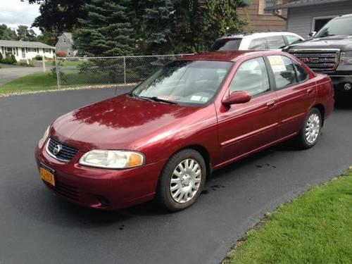 03 nissan sentra gxe 2003 nice car runs great 138k for sale in syracuse new york classified. Black Bedroom Furniture Sets. Home Design Ideas