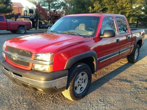04 Chevy Silverado Crew Cab 1500 Z71 Nice Truck For In Good Hope Illinois