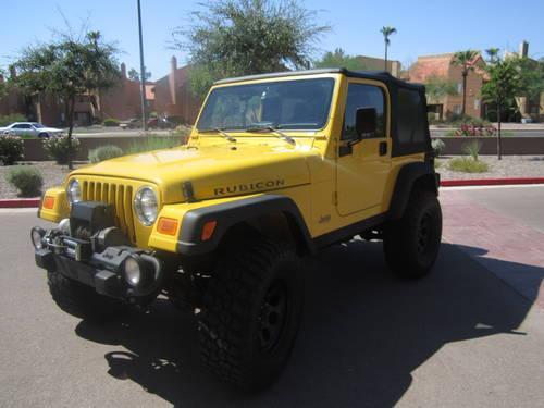 04 tj rubicon jeep for sale in mesa arizona classified. Black Bedroom Furniture Sets. Home Design Ideas
