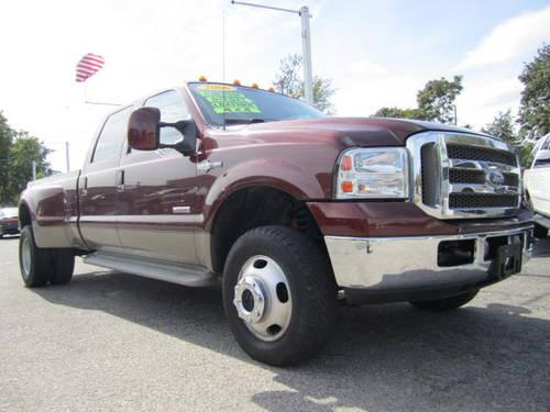 06 ford f350 king ranch lariat dually turbo diesel fx4 loaded for sale in howell. Black Bedroom Furniture Sets. Home Design Ideas