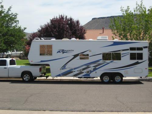 06 Ragen 3005 Luxury 5th Wheel Toy Hauler Most Sought