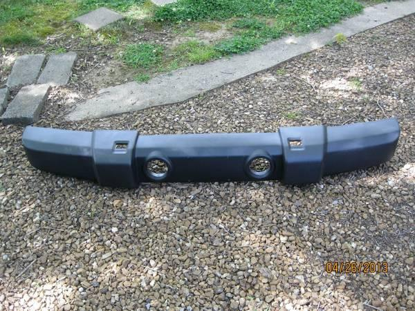 07-13 Jeep Wrangler front bumper - $75