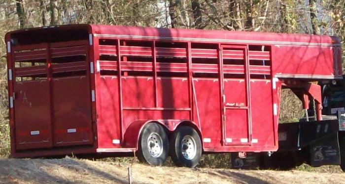 08 Adam Horse/Stock/Cattle Trailer for Sale in Madison ...