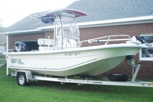 08 CAROLINA SKIFF DLVE ELITE W/150hp 4Stroke 175 hrs.