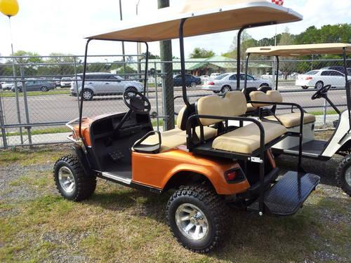 08\' CUSTOM EZGO ST LIFTED GOLF CART(NEW BATTERIES) for Sale in ...