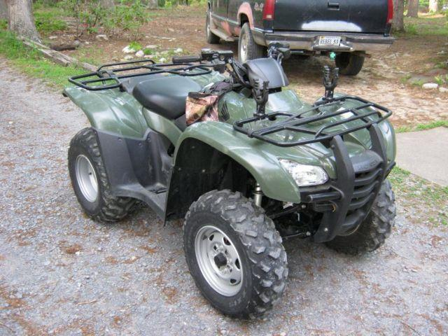 08 honda trx 420 es rancher 55hr for sale in luray for Honda 420 rancher for sale