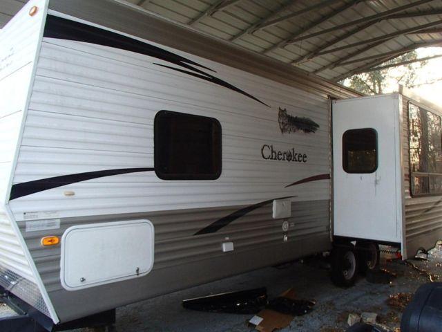 09 Cherokee M 27 L Bumper Pull Travel Trailer For Sale In