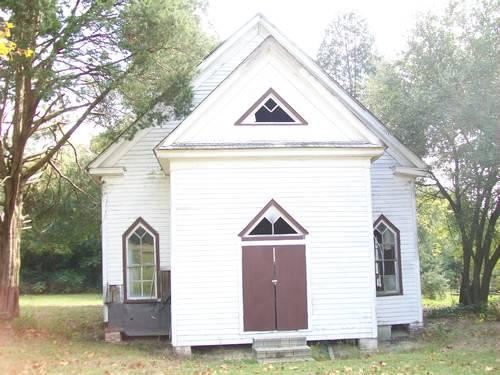 1 1 Acres With 100 Year Old Church And Out Building On