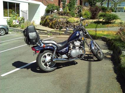$1,100 1990 Kawasaki Vulcan EN500 cruiser in great