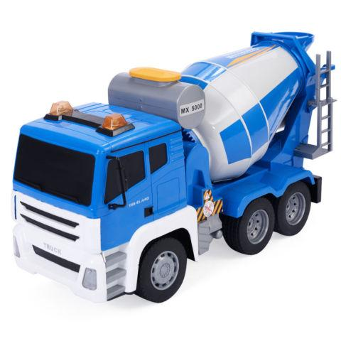 118 5CH Remote Control Concrete Mixer Truck Kids Large Toy