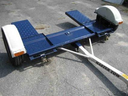New Master Tow Rv Car Tow Dolly W Led S Deluxe Straps And
