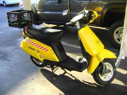 $1,195 1987 Yamaha 125 Riva Scooter