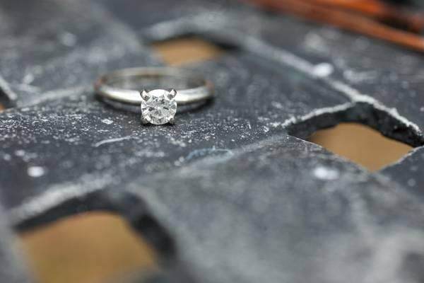 1/2 Carat Diamond Engagement Ring w/ Appraisal