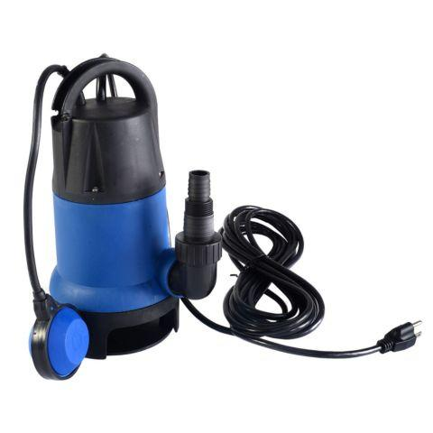 1/2 HP 2000GPH Submersible Dirty Clean Water Pump