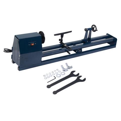 1/2 HP 4 Speed 40 Inch Wood Turning Lathe Machine 120v