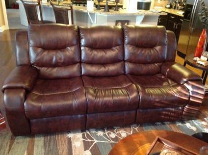 Obo 3 piece verano dark brown leather living room set for Living room sets atlanta ga