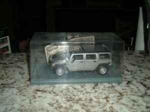 1/24 scale Collectable Die Cast metal Hummer H2 - $10
