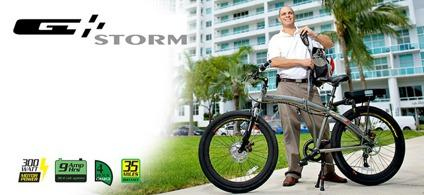 $1,299 Prodeco Technologies 2013 Storm 500 Electric Bicycle eBike