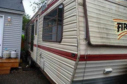 1987 30 Shasta Fireball Camp Trailer Travel Trailer For