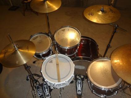 $1,450 OBO Tama Starclassic Performer  OCDP DRUMS Maple 5 Piece with Hardware, Cymbs, ETC