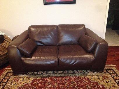 Obo 2 Oversized Leather Loveseats For Sale In Tuscaloosa
