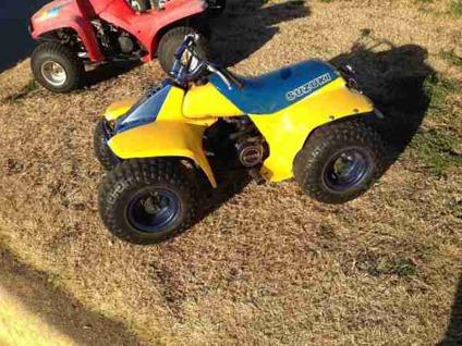 Four Wheelers For Sale >> Pair of Suzuki LT 50cc 4 wheelers (NW OKC ) for Sale in ...