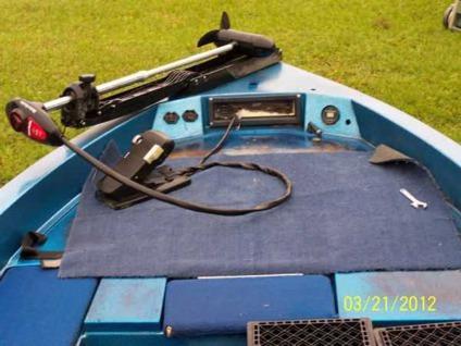 $1,500 Ranger Bass Boat 350v 1986 115 Evinrude