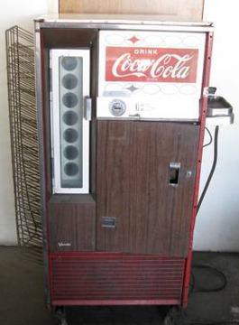 Vintage Vendo Ha56 Coca Cola Machine For Restoration And