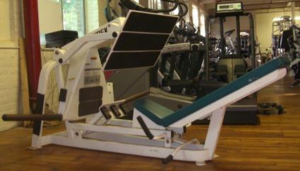 Obo Cybex Leg Press Plate Loaded For Sale In Boston