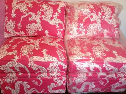 Lilly Pulitzer Furniture Collection Chairs 2 New For