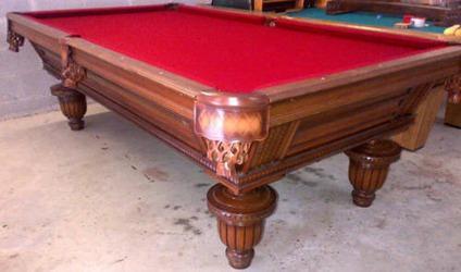 $1,599, Golden West 8' Pro Union League Pool Table