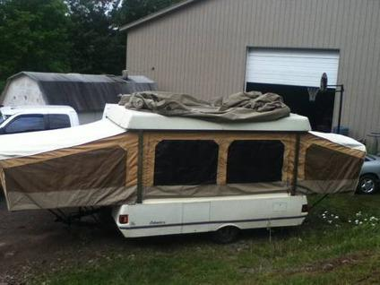 Travel Trailers For Sale In Pa >> 1989 Coleman Pop up Camper for Sale in Factoryville ...