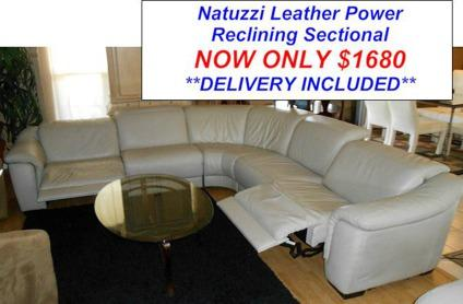 Natuzzi Leather Sectional New And Used Furniture For In The Usa Clifieds Americanlisted