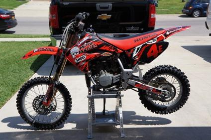2003 honda 85cc 2 stroke dirt bike for sale in killeen texas classified. Black Bedroom Furniture Sets. Home Design Ideas