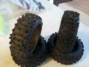 1/8 buggy wheels & tires (eugene)