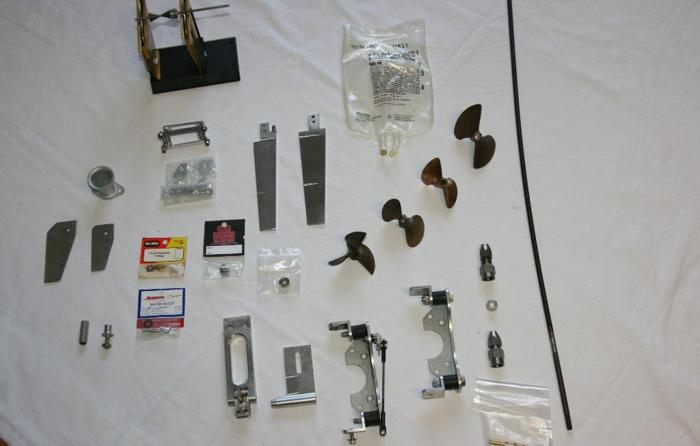 Mercedes Jacksonville Fl >> 1/8 SCALE GAS RC BOAT PARTS-PROPS,RUDDERS,FLEXSHAFTS,ECT ...
