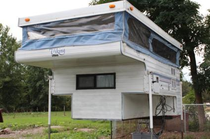 Obo 1993 Viking Truck Camper With Full Bathroom For Sale