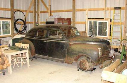 $1,995 1941 Plymouth Hot Rod Project with Original