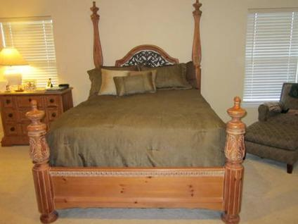 queen bedroom set 4 piece thomasville for sale in castle rock
