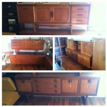 mid century danish modern retro furniture broadway vintage for sale in boise idaho. Black Bedroom Furniture Sets. Home Design Ideas