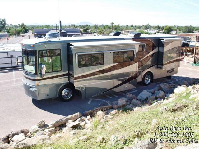 1 owner winnebago itasca meridian class a diesel pusher rv only 27k for sale in mesa arizona. Black Bedroom Furniture Sets. Home Design Ideas