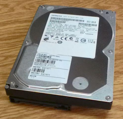 1 TB SATA hard disk Hitachi hua722010cla330 enterprise-class