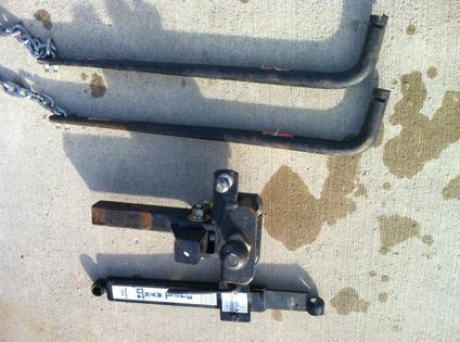 $1 Trailers -- towing equipment, stabilize, load