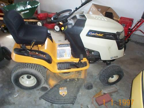 1 Year Old Cub Cadet Lawn Tractor 23 Hp Ltx1046 For Sale In Cleaver New York Classified