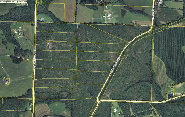 10 acre tracts Okaloosa county $45,000 financed $450