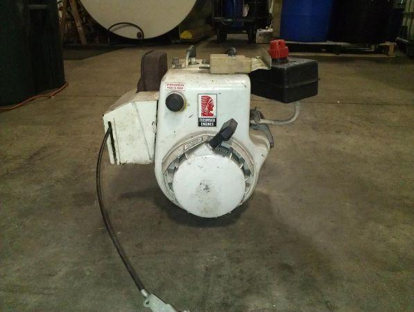 10 HP TECUMSEH SIDE SHAFT MOTOR W ELEC. START - $125 ROCKFORD