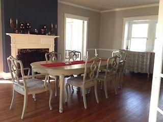 10-Pc. Restoration Hardware Inspired Restored Antique Dining Room Set